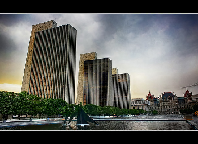 Albany N.Y. - Empire State Plaza 04