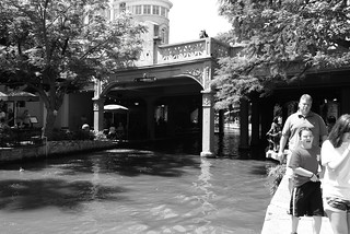 Commerce Street Bridge over San Antonio River, San Antonio, Texas 1306021529BW | by Patrick Feller