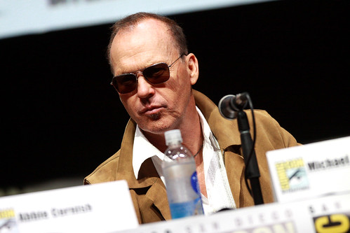 Michael Keaton | by Gage Skidmore