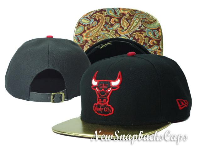 1b826f2b ... sanantoniospurssnakeskinsnap Chicago Bulls Leather Strapback NBA  Snapback New Era Hats Caps Windy City Black | by  sanantoniospurssnakeskinsnap