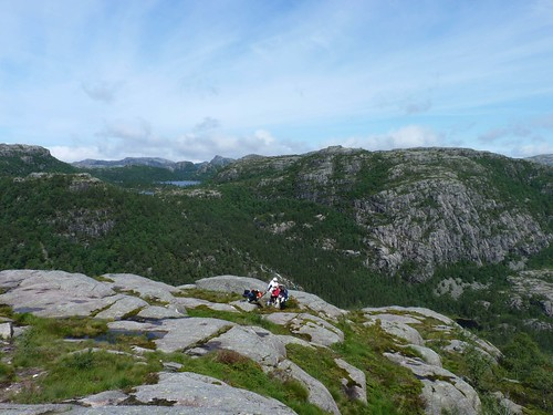 Hiking to Preikestolen | by theonewithout