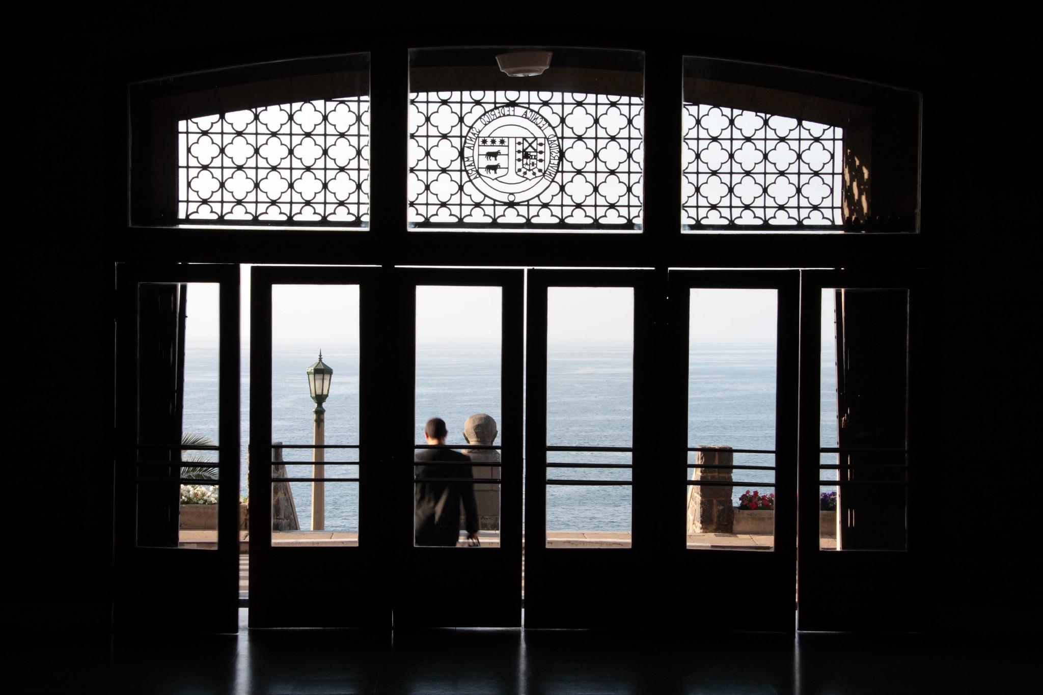 Casa Central USM, Vista al Mar
