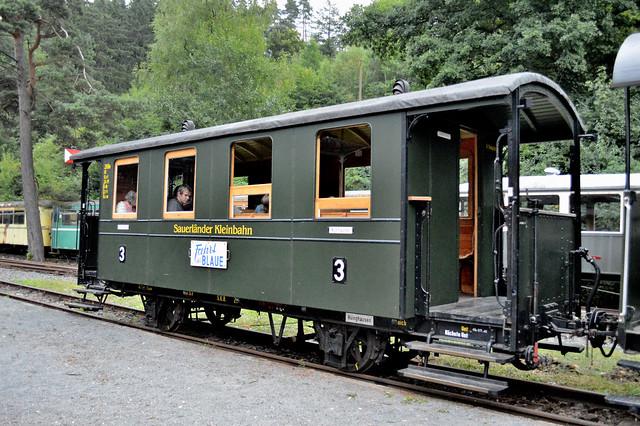 Alter Waggon der Sauerländer Kleinbahn
