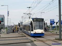 GVB Amsterdam 2149, Lijn 26, IJburglaan (2013)