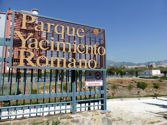 Málaga - Fuengirola - Yacimiento romano Finca El Secretario 36 33' 28 -4 36' 45