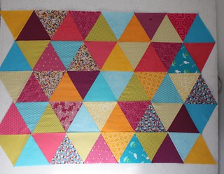 Equilateral Triangles - Random Arrangement | by Everyday Fray