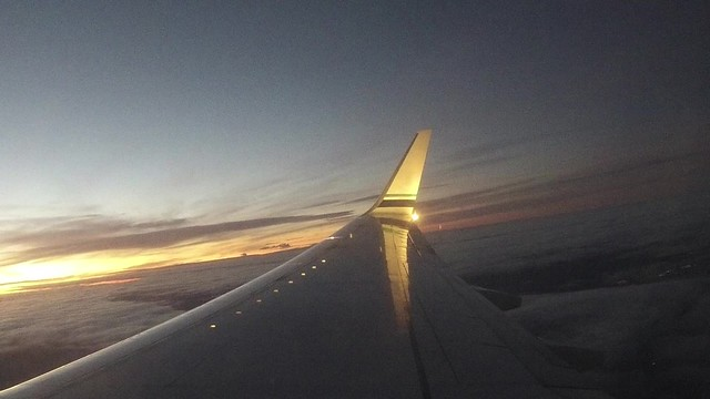 Airplane Timelapse