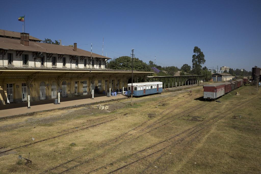 Old Ethiopia Djibouti Railway Central Train Station, Addis… | Flickr