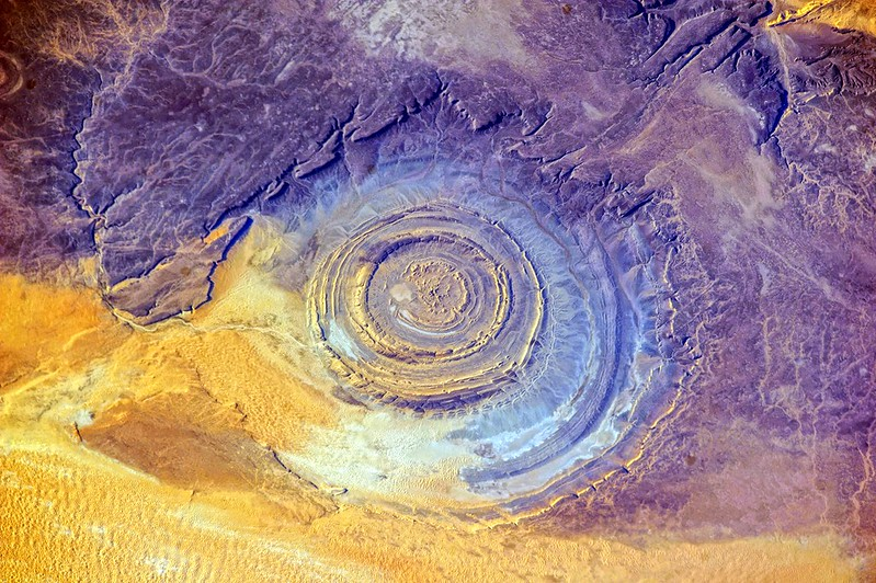 Richat Structure, Mid View