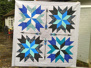 Orion quilt top finished!