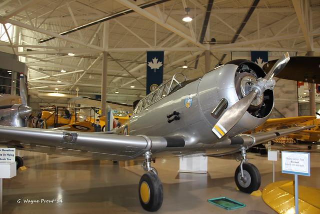 1940 North American NA-64 MK.1 Yale RCAF 3400 N129DB