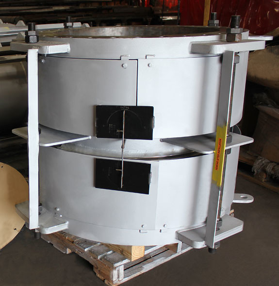 """36"""" Dia. Universal Expansion Joints Designed for an Oil Refinery in the Philippines"""