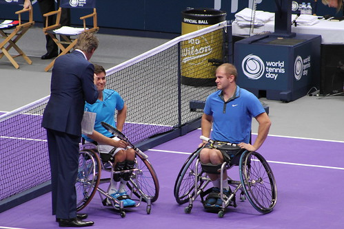Gordon Reid and Marc McCarroll   by tennis buzz