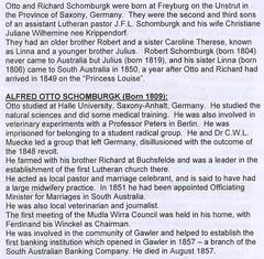 Schomburgk Alfred Otto