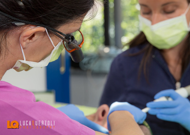 Lavatemi i Denti - Shooting Fotografico Studio Dentistico Ortodontico Dott.ssa Paola Sardanapoli