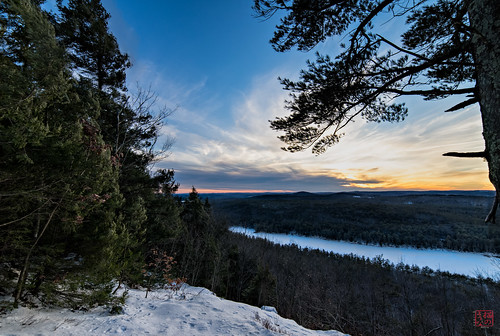 sunset ice unitedstates walk massachusetts tully royalston longpond winter2014 roki14