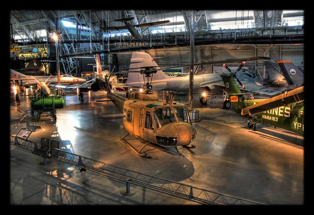 Chantilly VA - Steven F. Udvar-Hazy Center - Bell UH-1H (Bell Model 205) Iroquois (Huey) 02