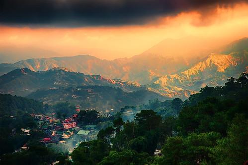 baguio minesview minesviewbaguio housesonmountain mountaintoplandscape