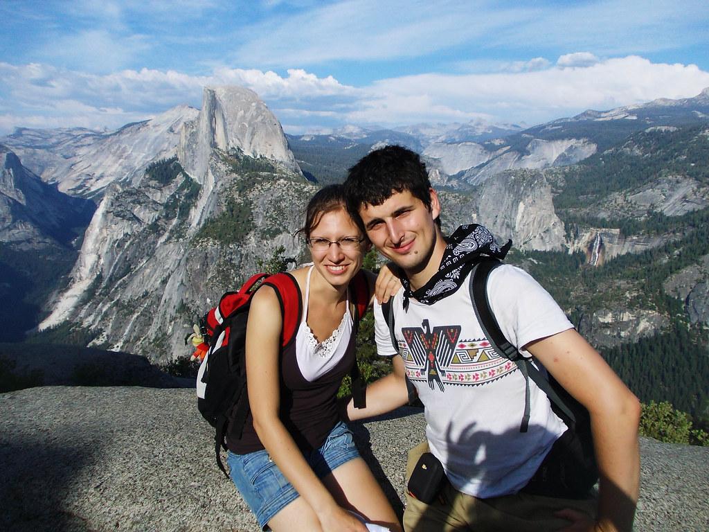 Glacier Point, Yosemite National Park, CA, USA