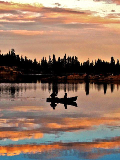 Canoeing in heaven