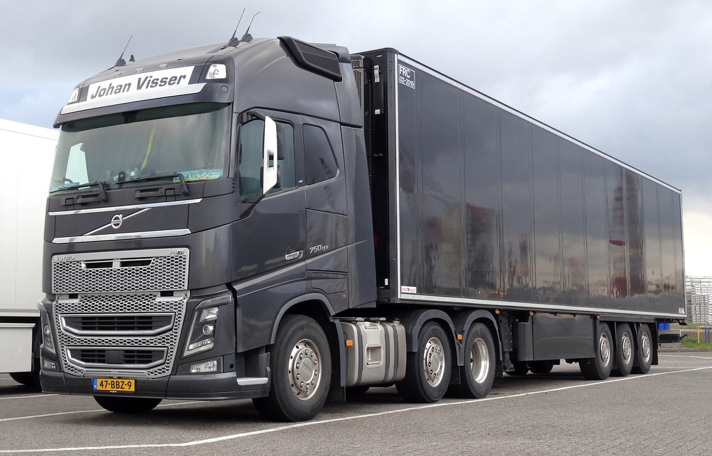 Beste Volvo FH16 Johan Visser | in Vlissingen-Oost | Coen Fourdraine PK-26