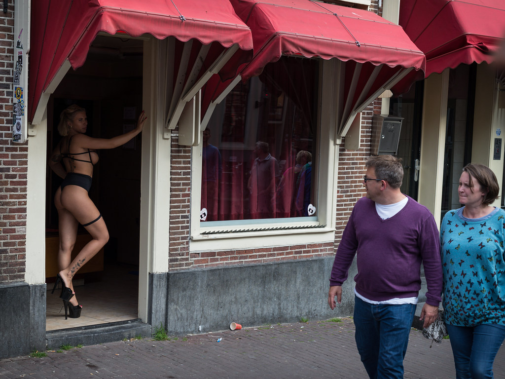 Non-physical cheat, Red Light district, Amsterdam
