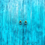 #Cyan#door#photography
