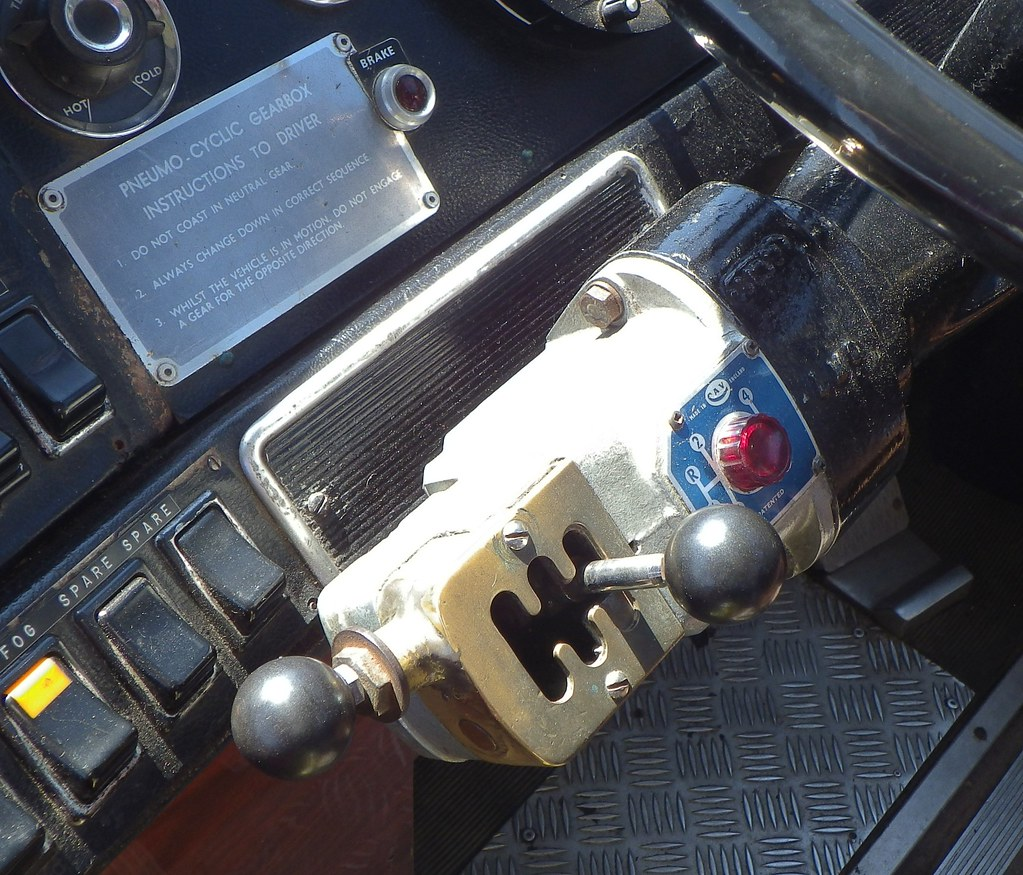 Electro-Pneumatic Semi-Automatic Gear Selector | Here we hav