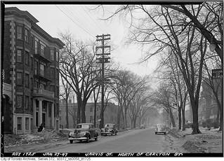 Jarvis Street, north from Carlton Street