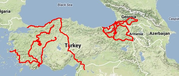 Nine months of bike touring in Turkey (plus one month in Georgia) by bryandkeith on flickr