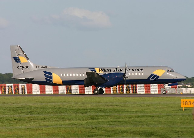 LX-WAO ATP West Air Europe Stansted 20.6.07