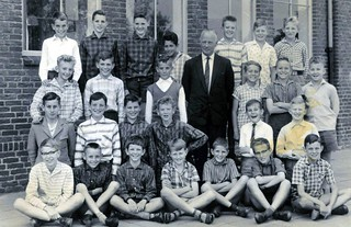 Don Bosco School Oss Year 6 with Mr Strik 1961