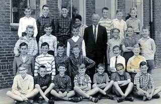 Don Bosco School Oss Year 6 with Mr Strik 1961