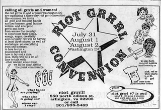 Riot Grrrl Convention, 1992 | by rockcreek