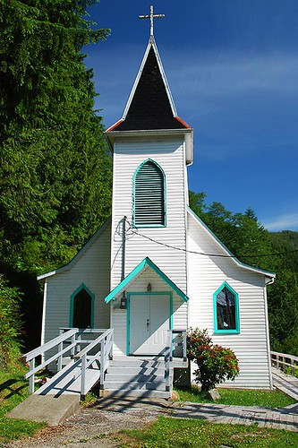 St Joseph's Catholic Church, Tahsis, North Vancouver Island, British Columbia