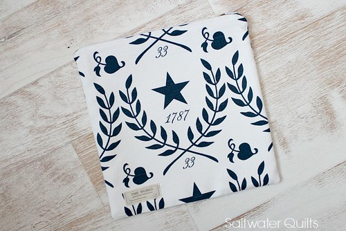 Star Zipper Bag | by Saltwater Quilts