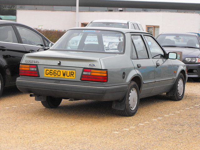 Ford Orion 1.4L - G660 WUR