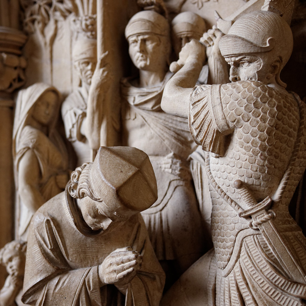 Scene at Exeter Cathedral