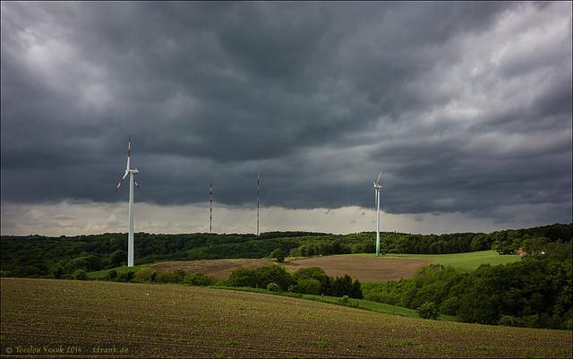 Windkraft und Sender
