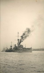 How serious was the German naval threat to Great Britain