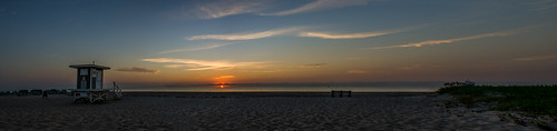 ocean life tower beach sunrise boat sand nikon chairs florida lounge guard westpalmbeach panoramic atlantic singerisland d7000
