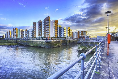 marina canon buildings bristol golden harbour portishead sunday hour hdr goldenhour 6d triggertrap
