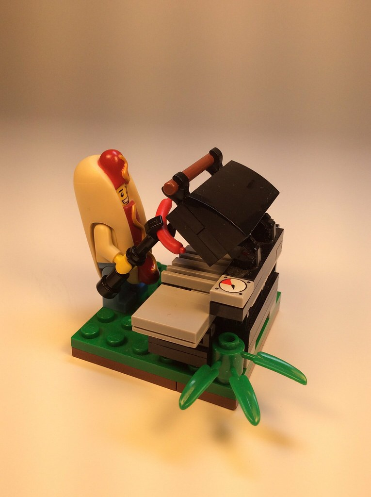 Hot Dog Man Mini Figure Toy