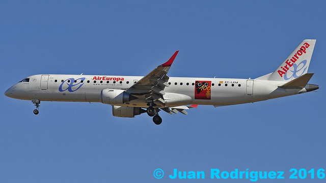EC-LKM - Air Europa - Embraer ERJ-195LR (ERJ-190-200 LR)