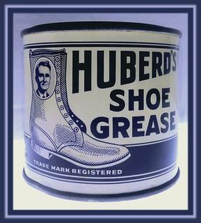 Herberd's Shoe Grease Tin Circa 1935