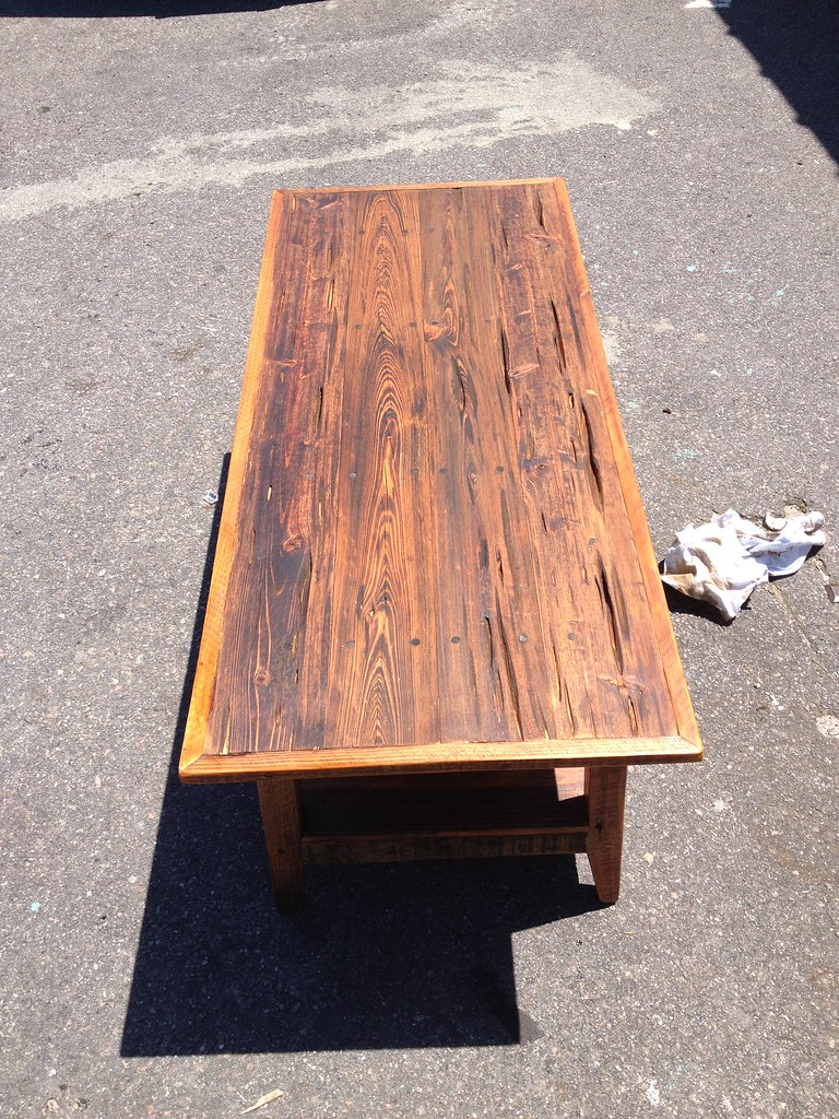 Genial Pecky Cypress Coffee Table   LandrumTables   Flickr