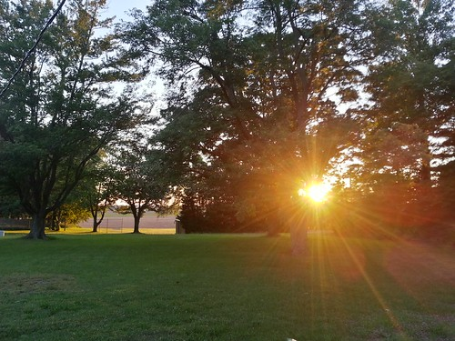 Sunset in Indiana. #tdc522 #ds106zone