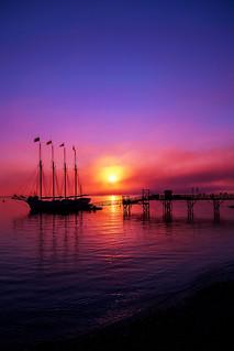 Sunrise at the Margaret Todd