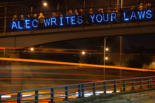 ALEC Writes Your Laws | by Overpass Light Brigade