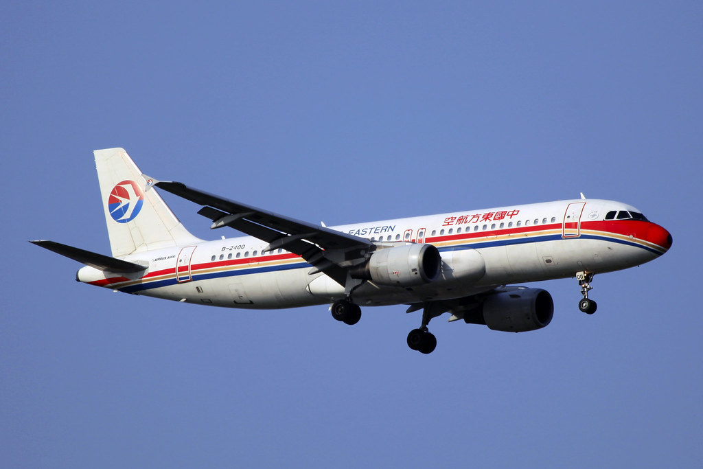 B-2400 | China Eastern Airlines | Airbus A320-214 | PVG